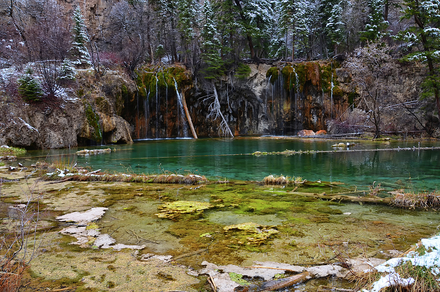 Hanging Lake 3 by Angelina Tamez