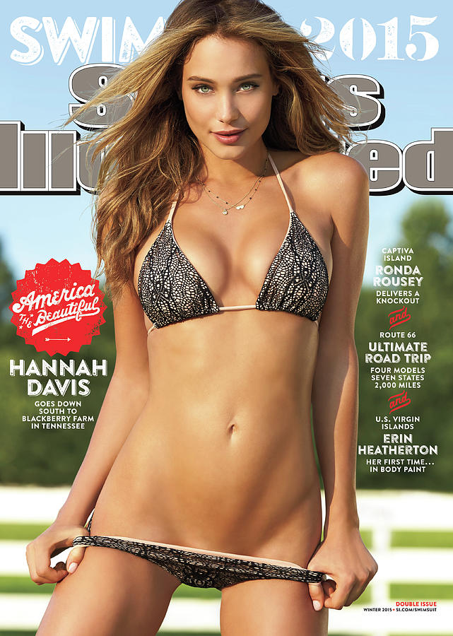 Hannah Davis Swimsuit 2015 Sports Illustrated Cover Photograph by Sports Illustrated
