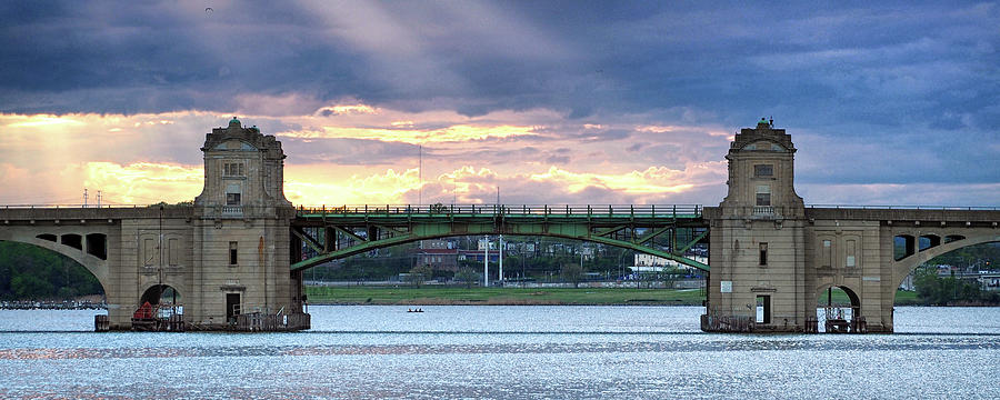 Hanover Street Bridge Draw Span by Bill Swartwout Photography