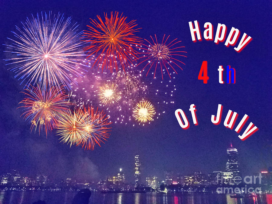 Happy 4th Of July by Diann Fisher