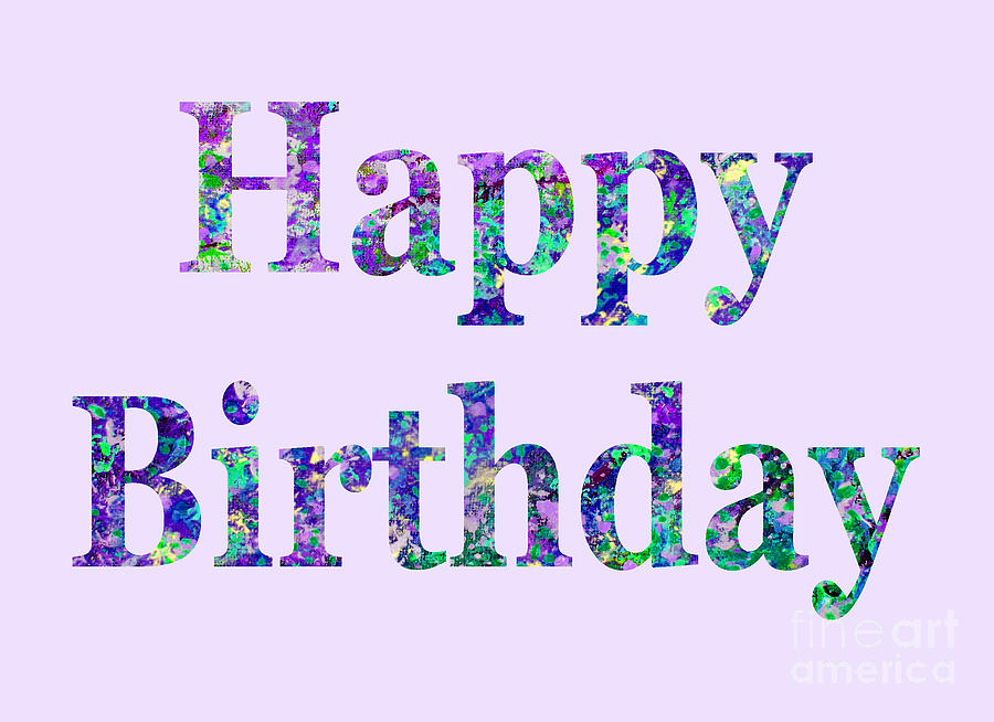 Happy Birthday 1002 by Corinne Carroll
