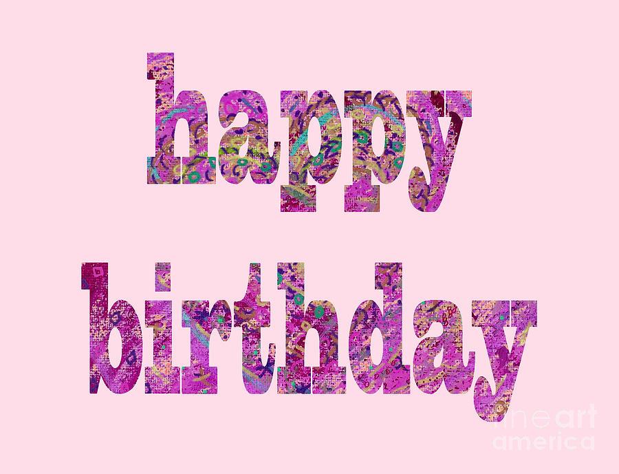 Happy Birthday 1003 Digital Art by Corinne Carroll