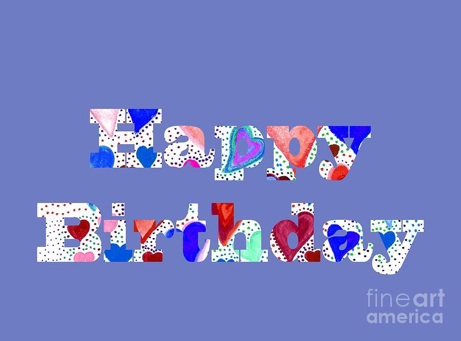 Happy Birthday 1004 by Corinne Carroll