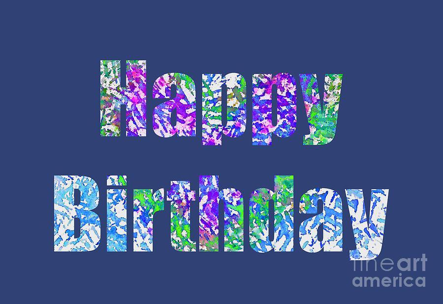 Happy Birthday 1006 by Corinne Carroll
