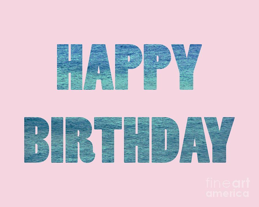 Happy Birthday 1008 by Corinne Carroll