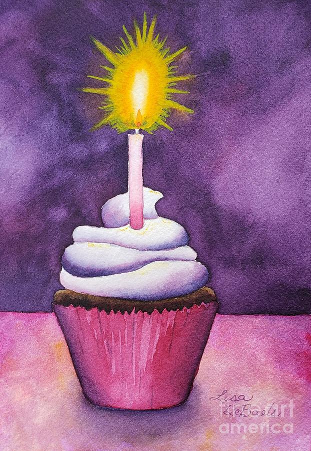Happy Birthday Cupcake by LISA DEBAETS