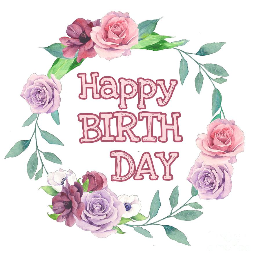 Happy birthday by Paola Baroni