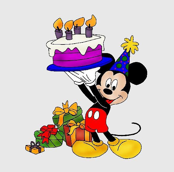 Fine Happy Birthday Wishes Or Invitation Mickey Mixed Media By Movie Funny Birthday Cards Online Elaedamsfinfo