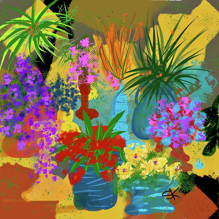 Happy Bouquet by Sherry Killam
