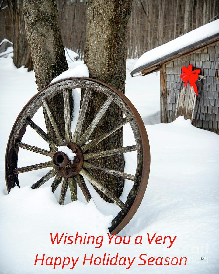 Maine Photograph - Happy Holiday Season by Alana Ranney