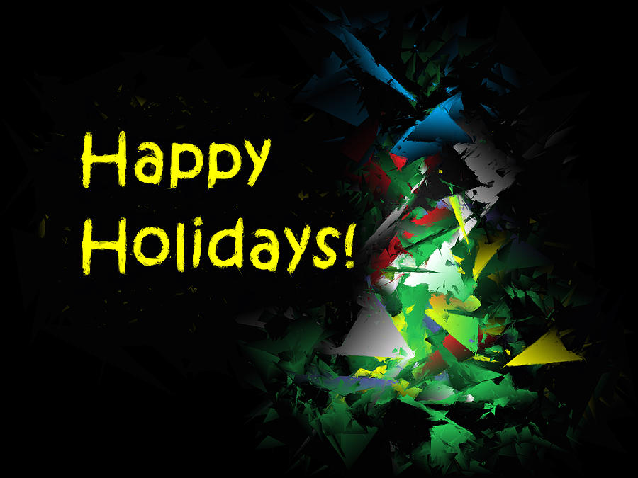 Happy Holidays - 2018-7 by Ludwig Keck