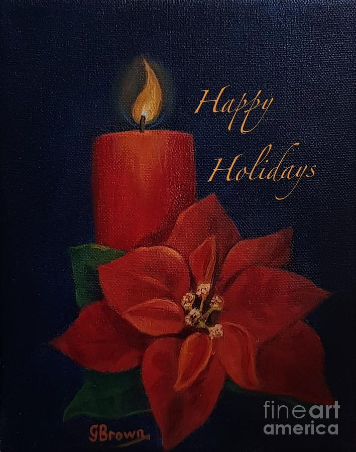 Happy Holidays by Genevieve Brown