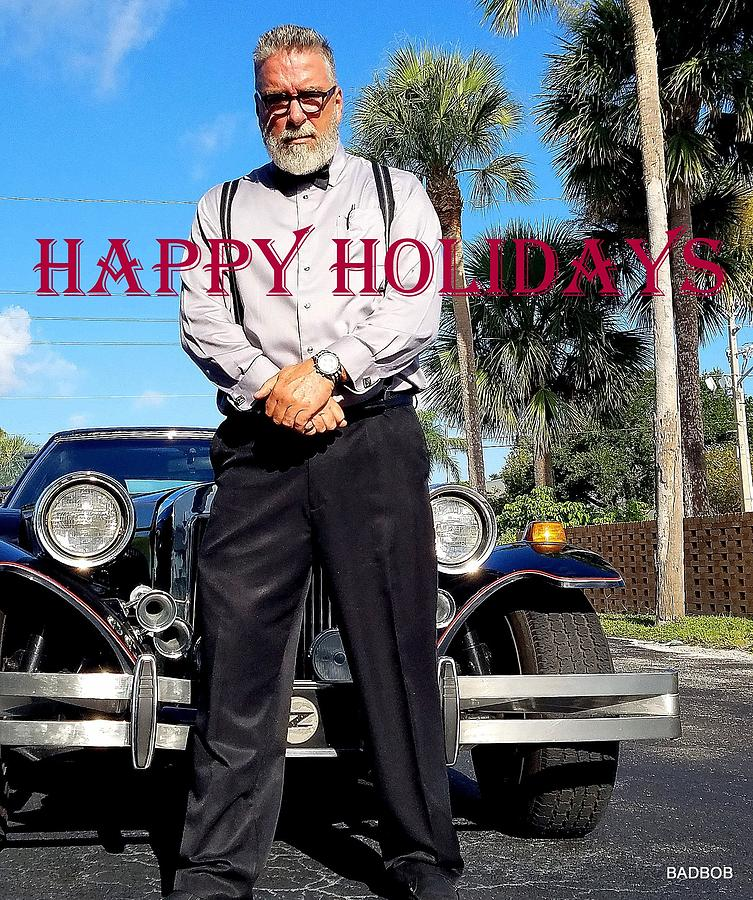 Happy Holidays  by Robert Francis