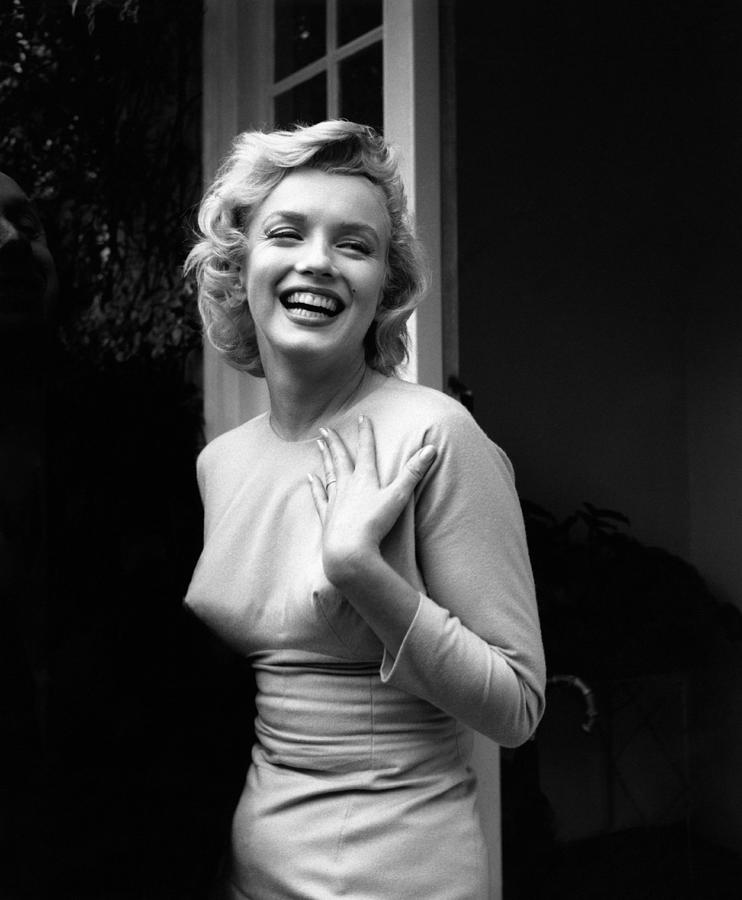 Happy Marilyn Photograph by Evening Standard