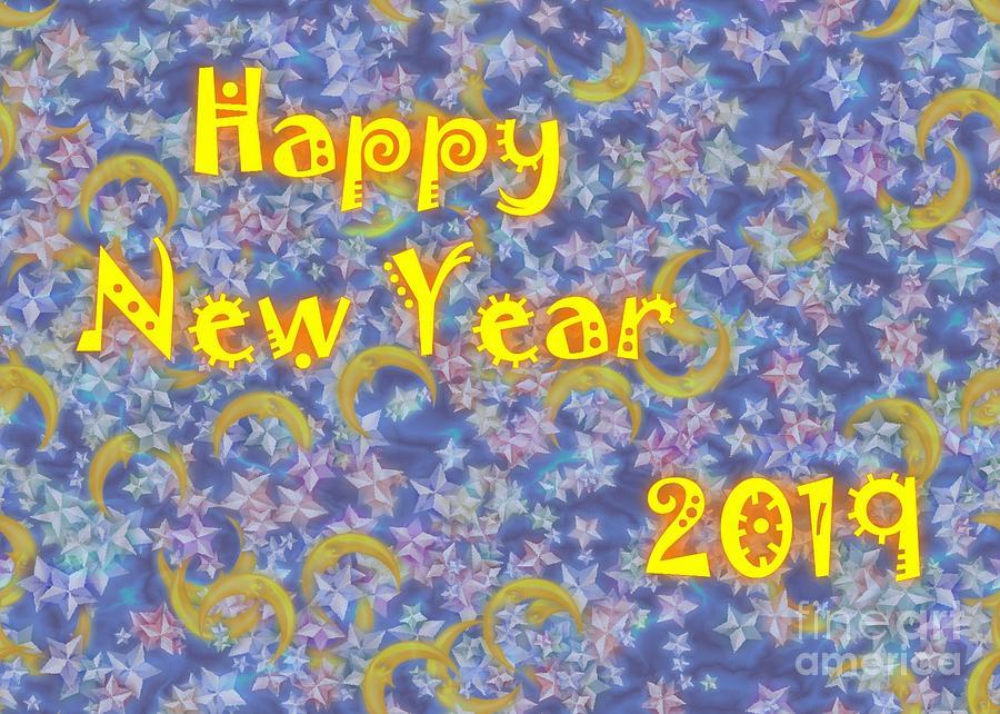Happy New Year 2019 Digital Art