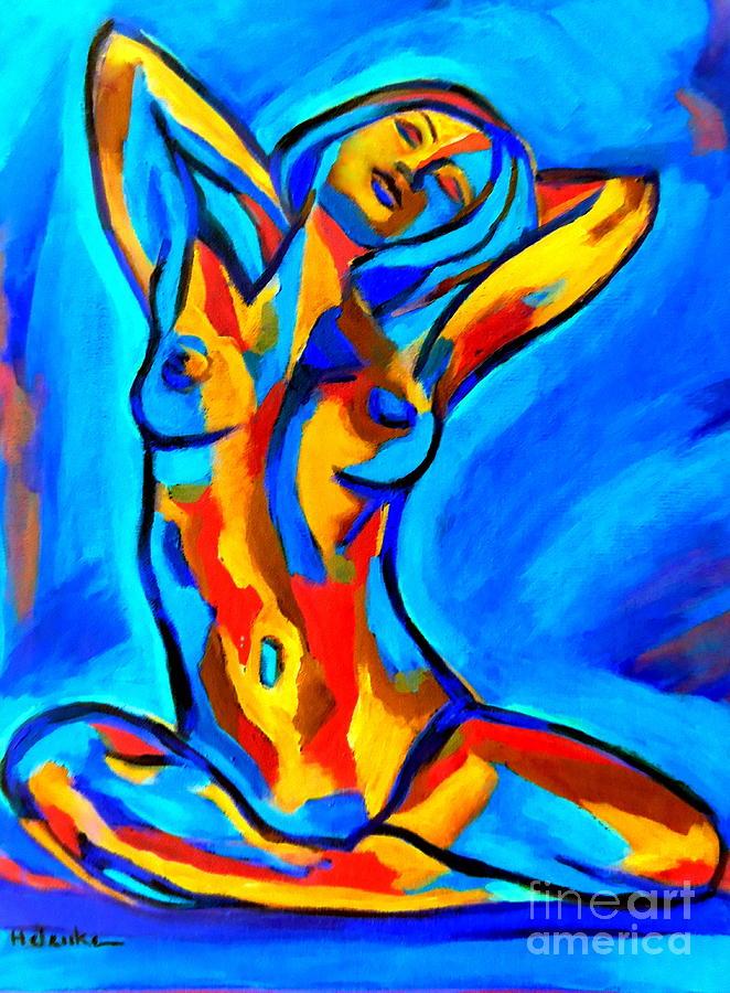 Happy nude by Helena Wierzbicki