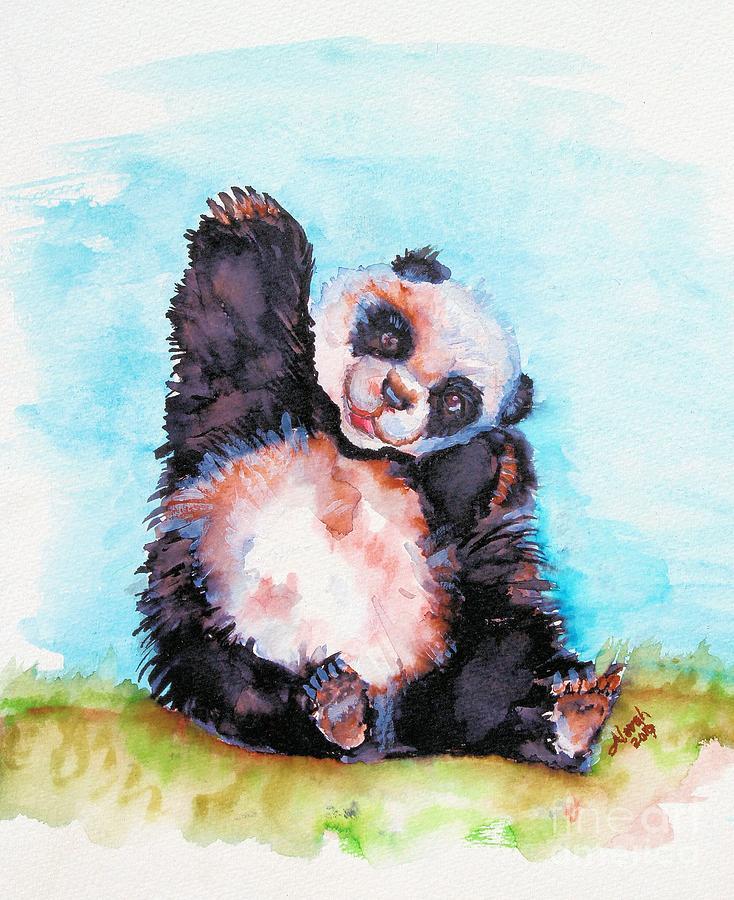 Happy Panda by Alorah Tout