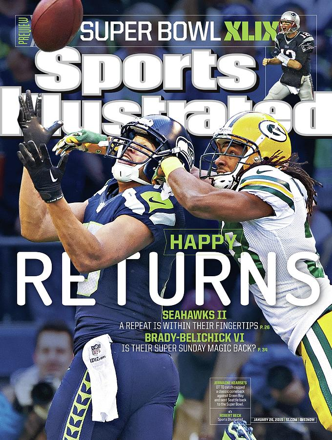 Happy Returns Seahawks II, Brady-belichick Vi Sports Illustrated Cover Photograph by Sports Illustrated