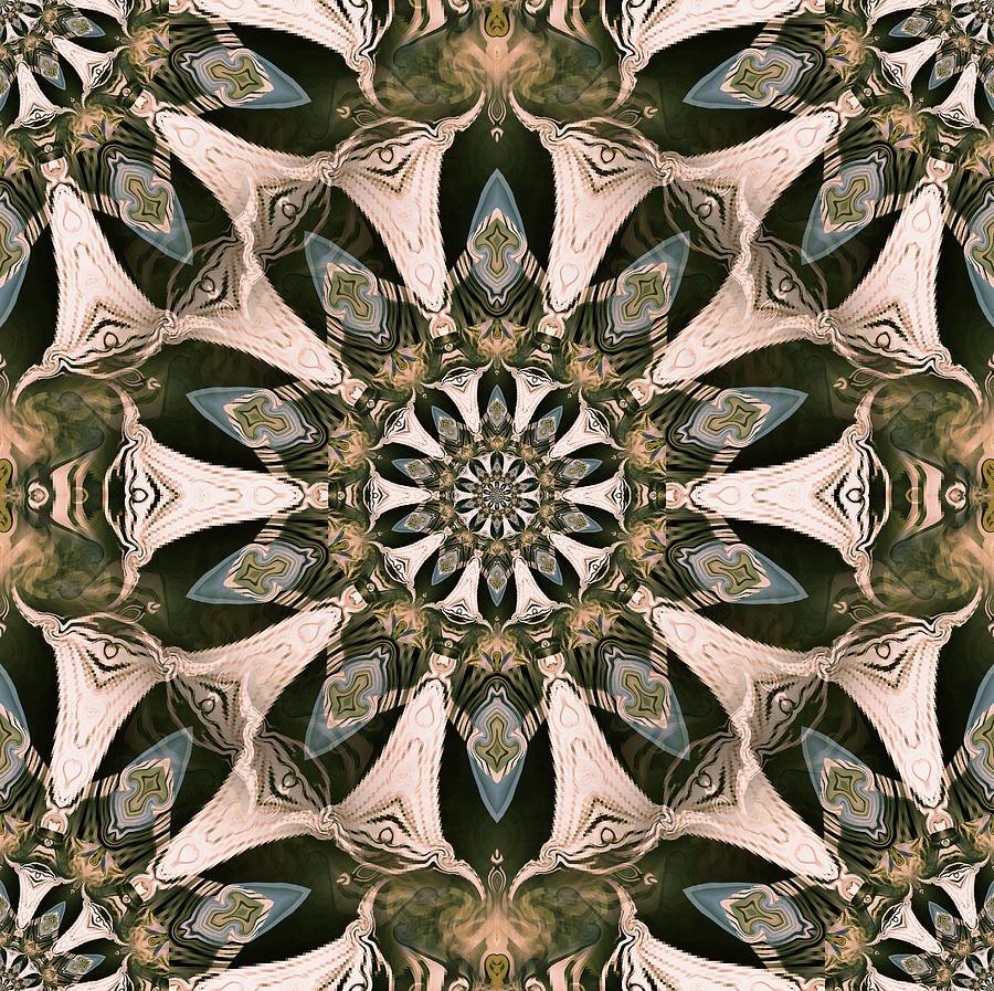 Happy Spirits Mandala by Natalie Holland