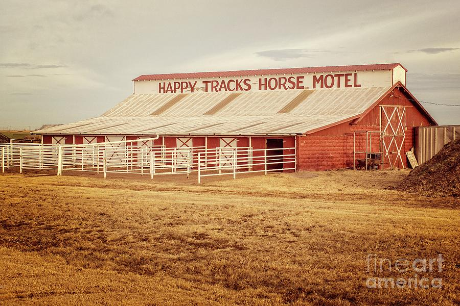 Happy Tracks Horse Motel  by Imagery by Charly