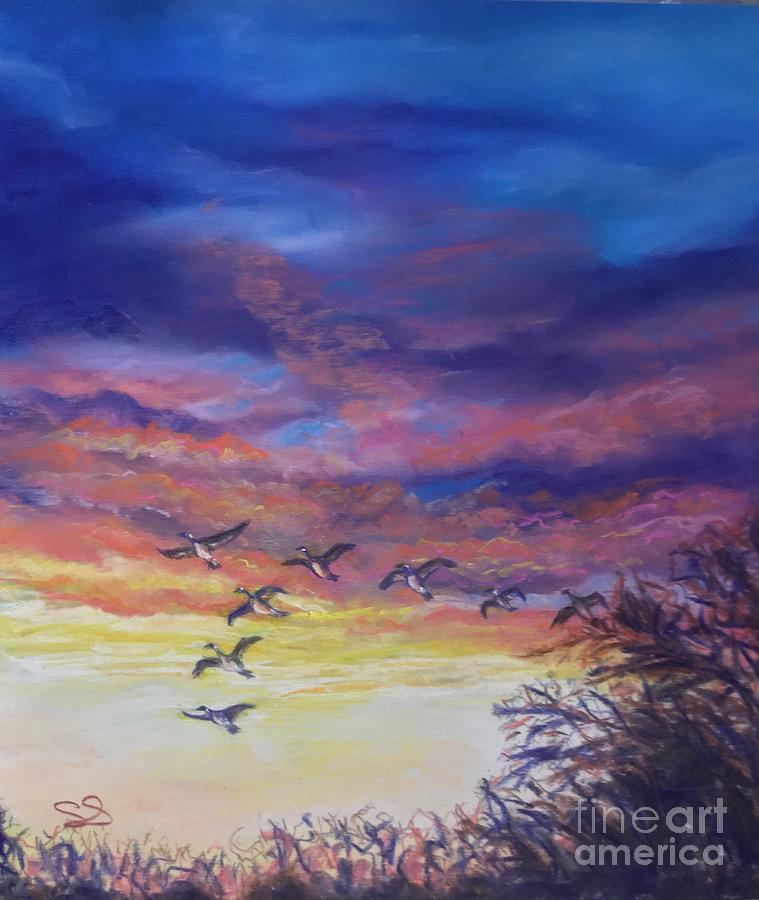 Harbingers of Spring by Susan Sarabasha