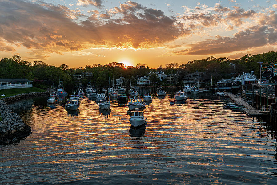 Photographer Photograph - Harbor Sunset by Matt Bilyk