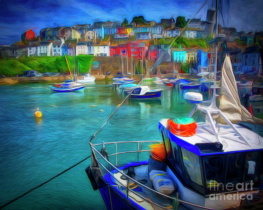 Harbour Life by Edmund Nagele