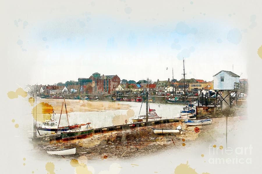 Harbour, Wells-next-the-sea by John Edwards