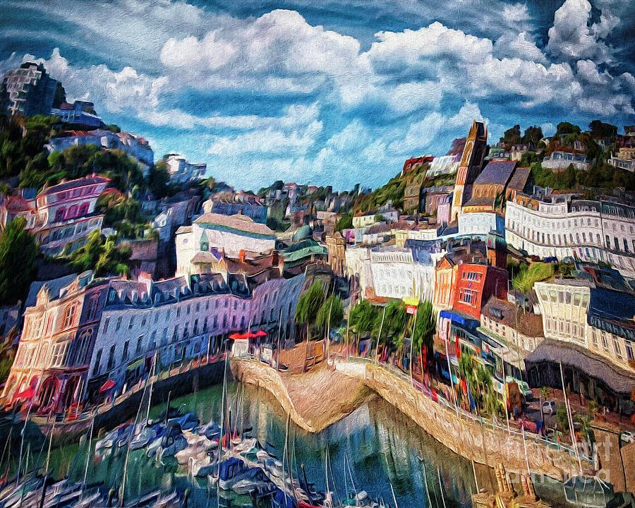 Harbourside by Edmund Nagele