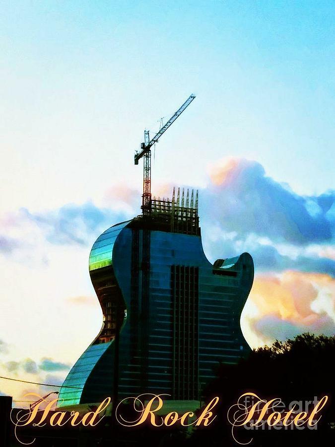 Hard Rock Hotel Going Up 02 by Chrisann Ellis