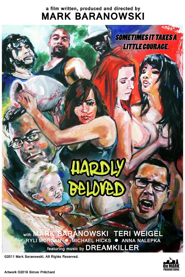 Hardly Beloved poster B by Mark Baranowski