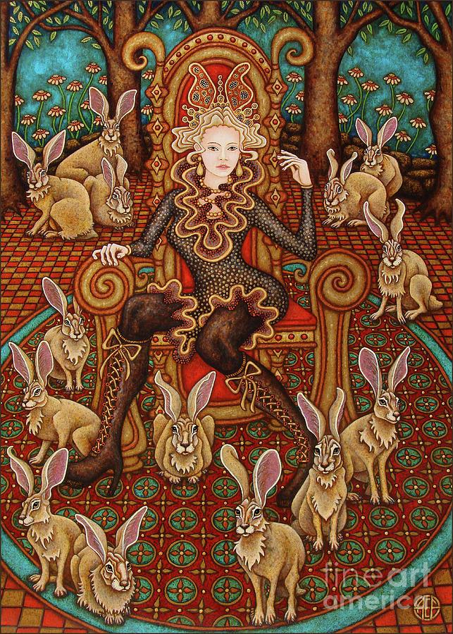 Hare Majesty Awaits by Amy E Fraser