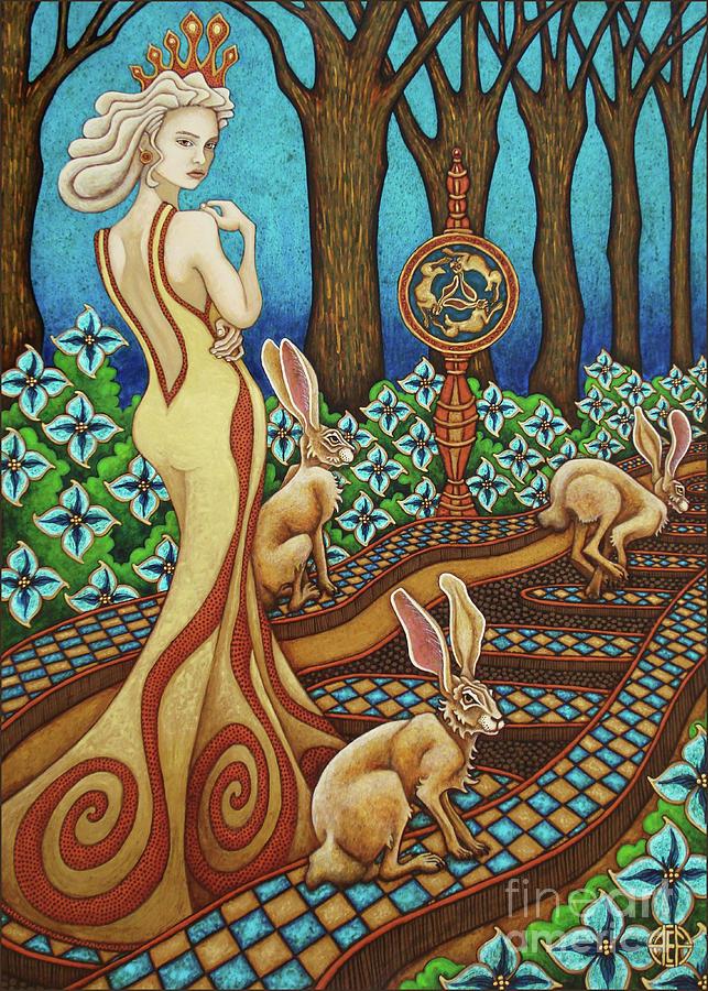 Hare Majesty Returns by Amy E Fraser