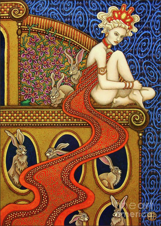 Hare Majesty's Hutch by Amy E Fraser