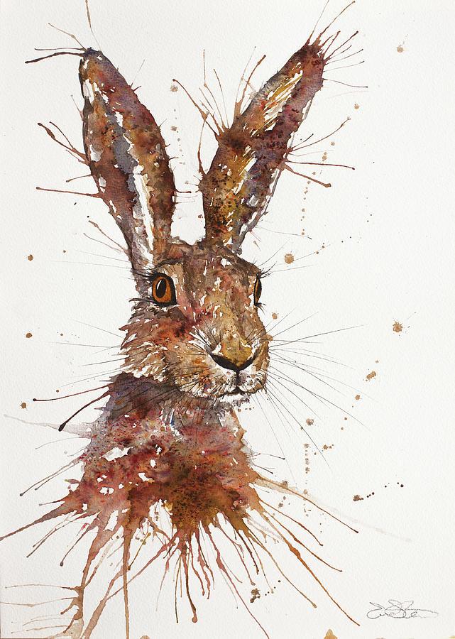 Hare Portrait by John Silver