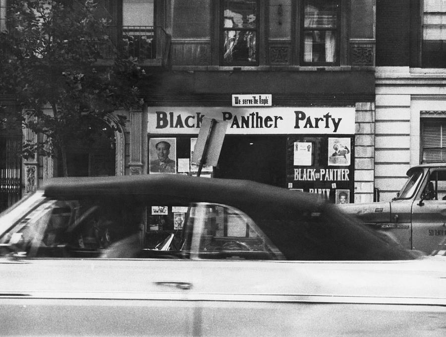 Harlem Panther Hq Photograph by Frederic Lewis