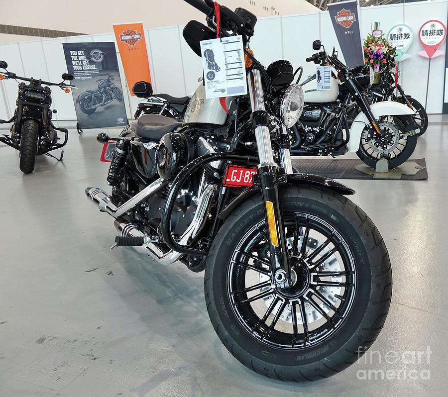 Harley Davidson Motorbike Exhibit by Yali Shi