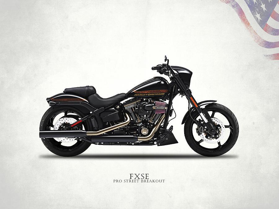Harley Davidson Photograph - Harley Fxse by Mark Rogan