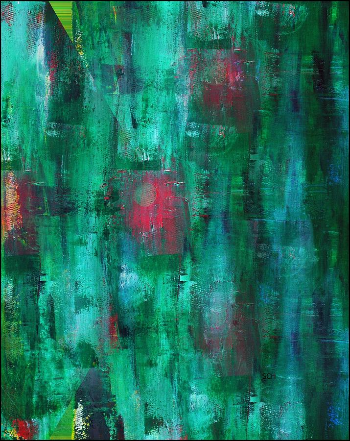 Abstract Painting - Harmony Number Two by Scott Haley