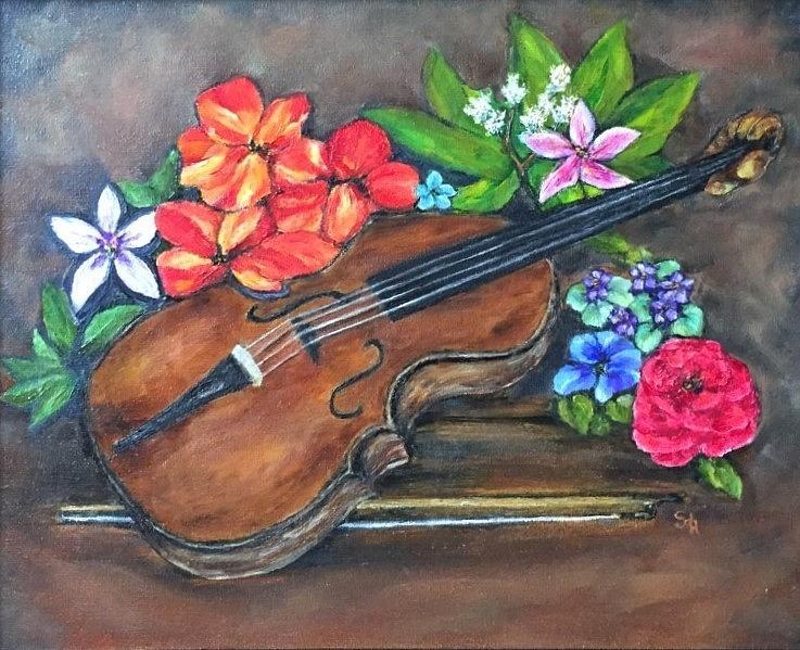 Harmony  Painting by Stephanie Callsen