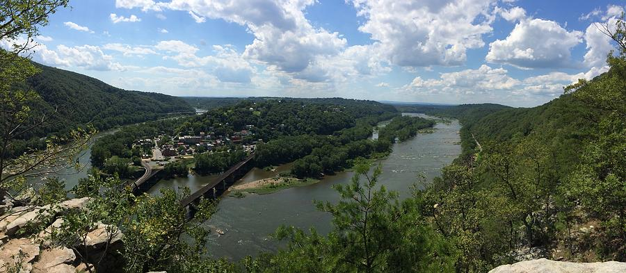 Harpers Ferry Panorama by Natural Vista Photo