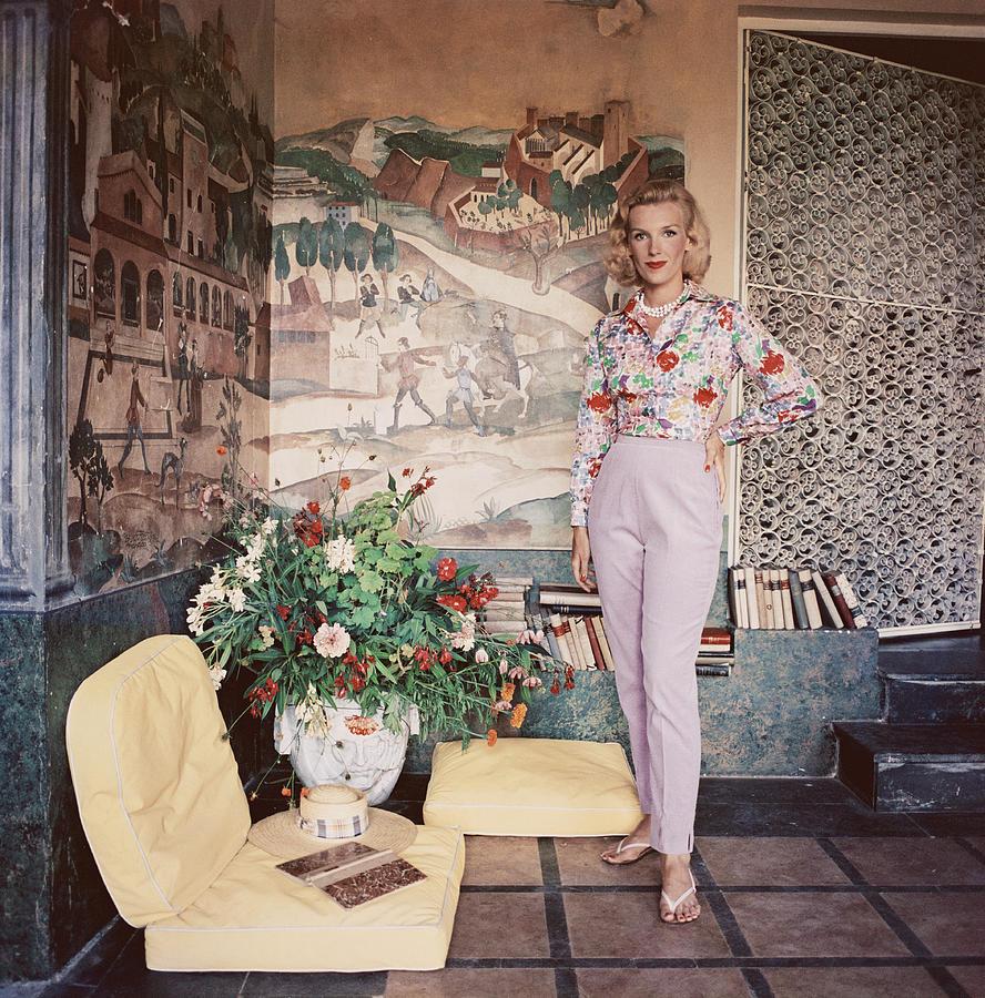 Harriet De Rosiere Photograph by Slim Aarons