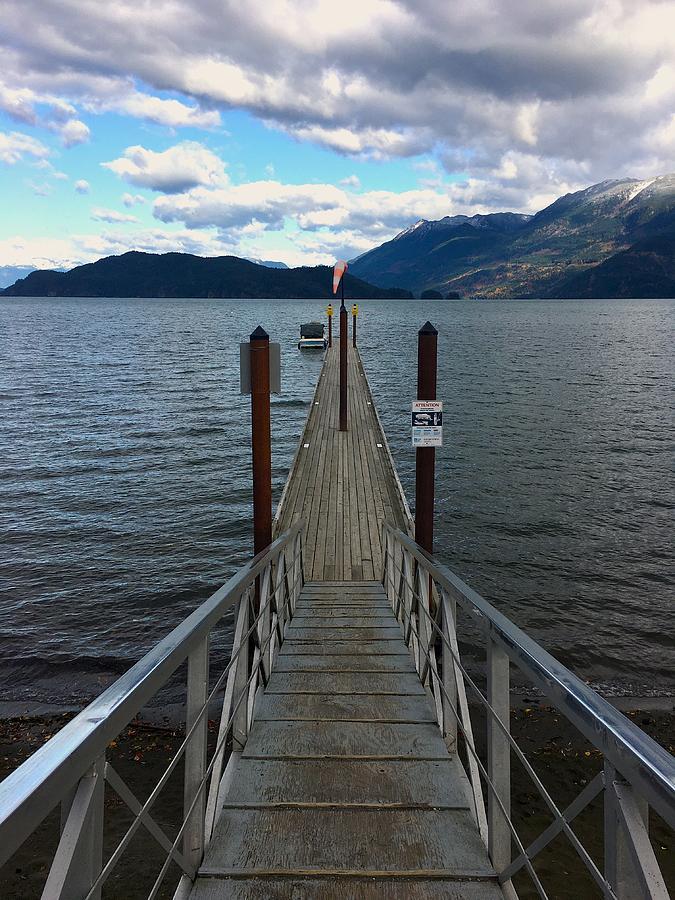 Harrison Hot Springs Pier - British Columbia Photograph