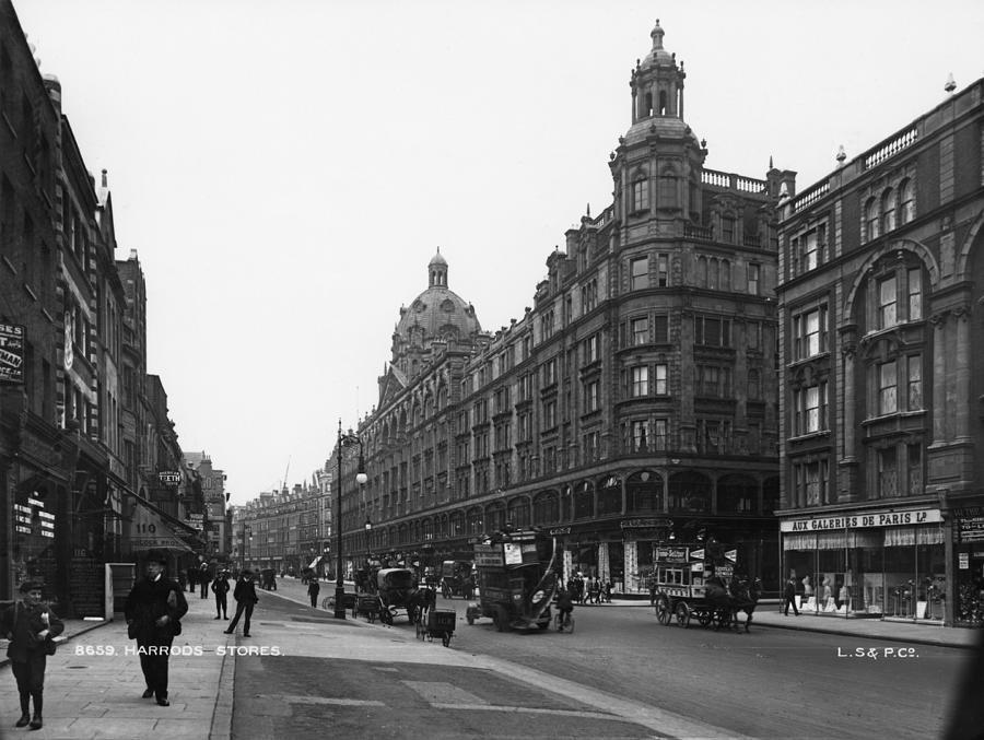 Harrods Department Store Photograph by London Stereoscopic Company