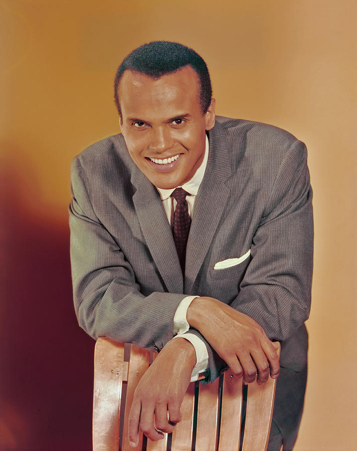 Harry Belafonte Portrait Photograph by Archive Photos