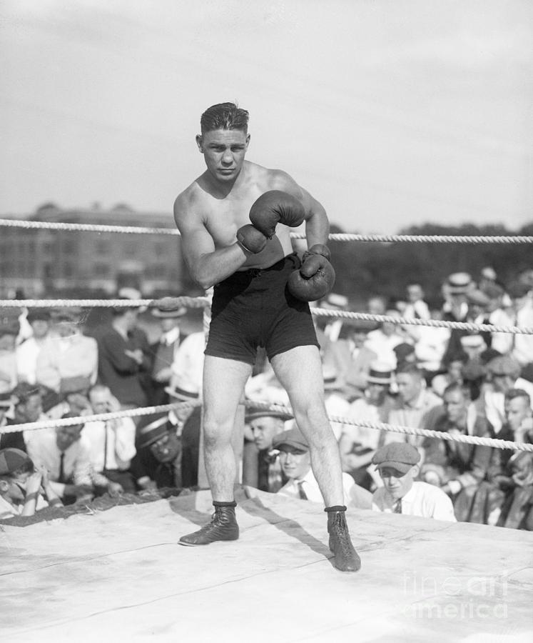 Harry Greb Standing In The Ring Photograph by Bettmann