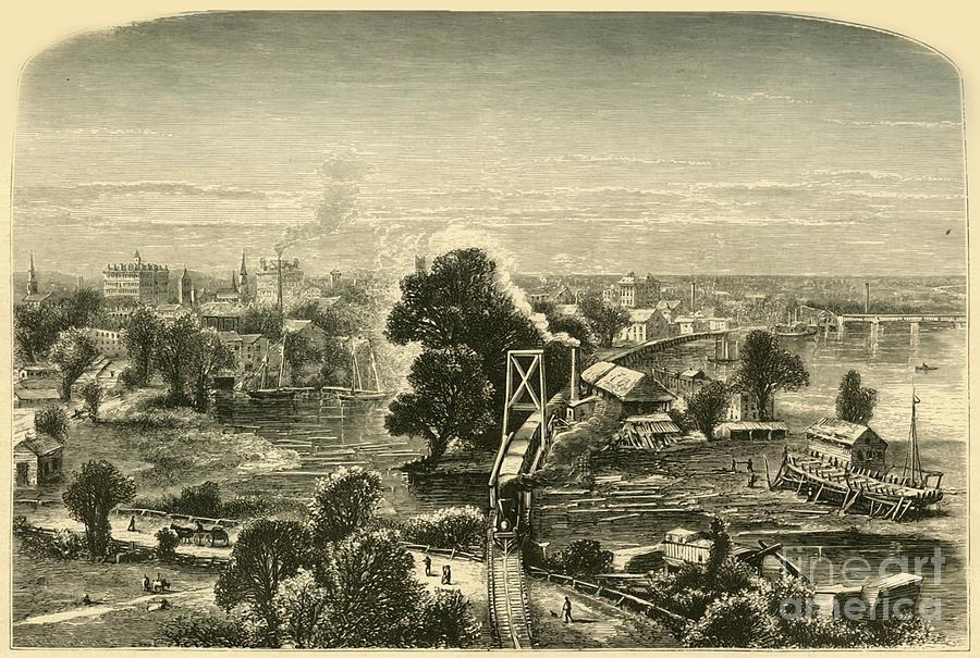 Hartford Drawing by Print Collector