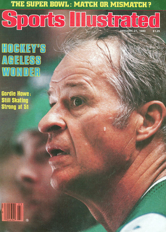 Hartford Whalers Gordie Howe Sports Illustrated Cover Photograph by Sports Illustrated