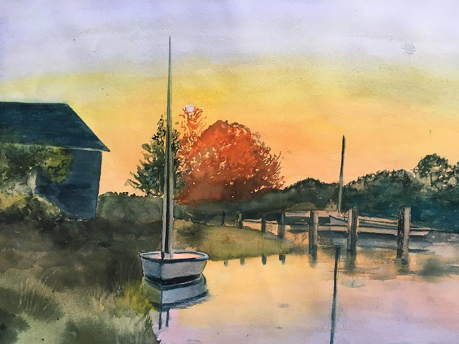 Harthaven Harbor, MV by Lynne Atwood