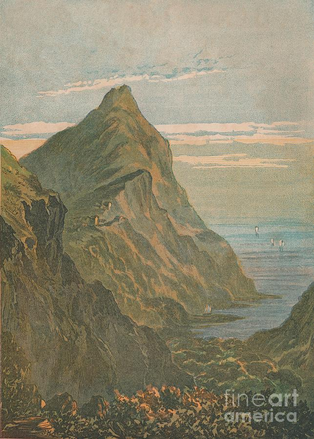 Hartland Point Near Clovelly Drawing by Print Collector